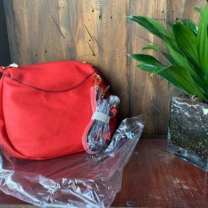Handbags - NEW red crossbody purse.